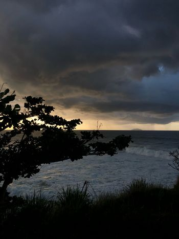 Dark beauty Puerto Rico Nature Beauty In Nature Sky Scenics Cloud - Sky Tranquil Scene Tranquility Silhouette Water Sunset Tree Outdoors Beach Travel Destinations Sea Horizon Over Water No People Day