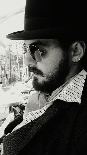 My Mo For Movember MyLove❤ Paris, France  Paris ❤ Smooking Hat Chapeau! EyeEm Gallery