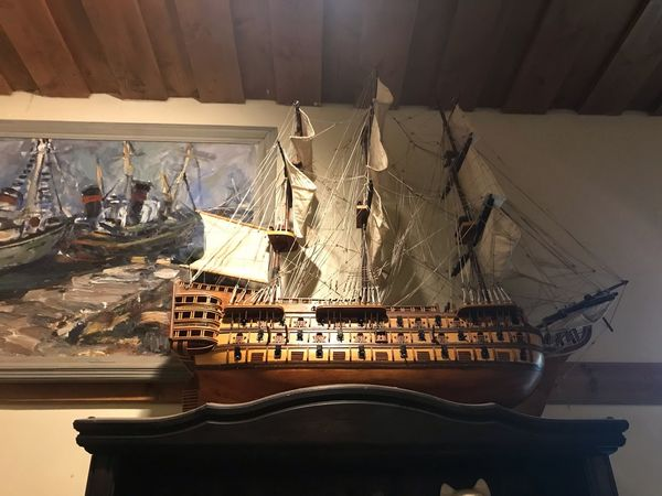Made With IPhone 7 No Effects Pirate Ship Boat Indoors  No People Table Still Life Large Group Of Objects Wall - Building Feature Arrangement Nature High Angle View Glass - Material Illuminated Glass Communication Architecture