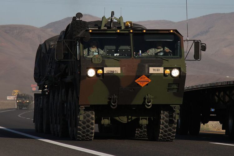 Air Force Ammo Army Danger Day Desert Heavy Heavy Expanded Mobility Tactical Truck Hemtt Military No People Ordnance OshKosh Outdoors Red Bull Road Sky Transport Transportation Truck Weapon