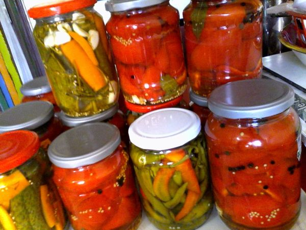 Wolfzuachis Romanian  Homemade Pickle Jars  Colorful Home Made Pickels Eyeem Market Home Made Pickles