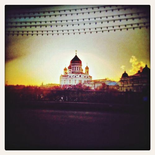 Cathedral Of Christ The Savior Building Moscow Tourist Attraction