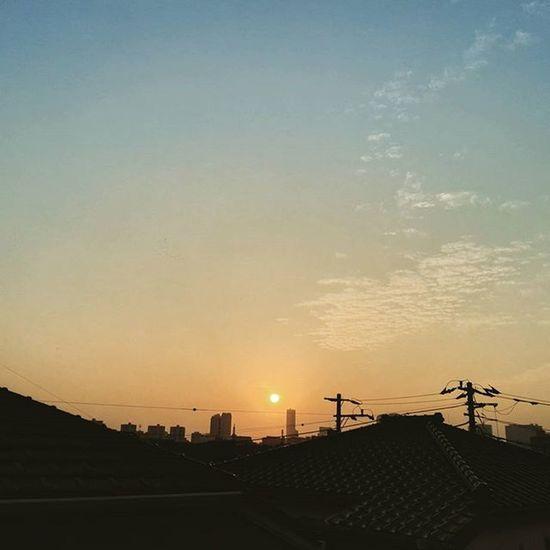 1日が終わってまう(・・;) Sunset Goldenhour Makuhari