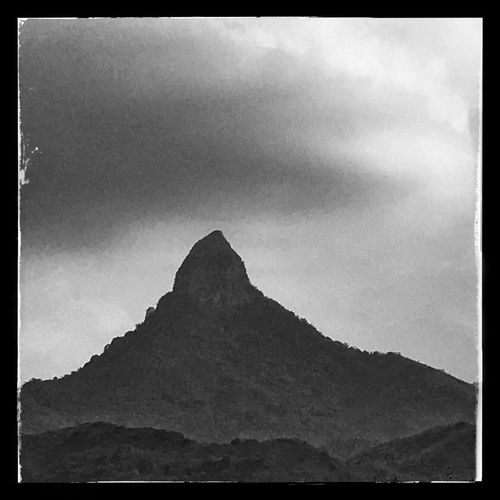 Mountains And Sky Mexico Travel Hidalgo  Iphonography Blackandwhite LandscapeMountain Sky Scenics Nature Tranquility Beauty In Nature Tranquil Scene Mountain Range Outdoors No People Day Cloud - Sky First Eyeem Photo