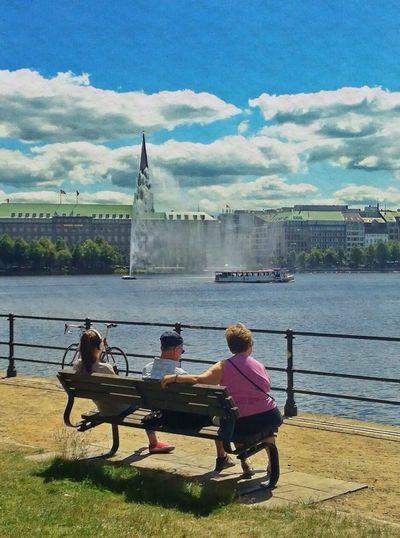 Hamburg Love Alster Lake Lake View Enjoying Life Enjoying The Sun Enjoying The View Jopesfotos - Urban Jopesfotos - Bestefotos