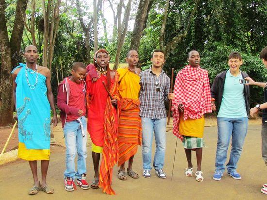 Jambo Bawana Swahili Kenya Nice Atmosphere Meeting Friends Just Smile  Dance Songs Country☺