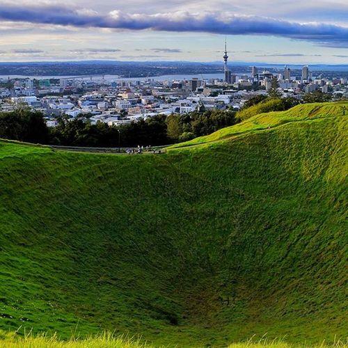 Visitnewzealand Visitauckland Auckland Volcano Crater Aucklandskyline Iglobal_photographers Vip_world_photo