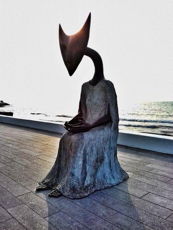 Artitst Leonoracarrington U.K. Surrealism Esculturasrealistas Beach Sea Streetphotography Good Morning Photography Boca Del Rio Veracruz Mexico
