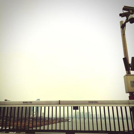 Han River Bridge Sky And Bridge On The Bridge Cityscapes Cloudy
