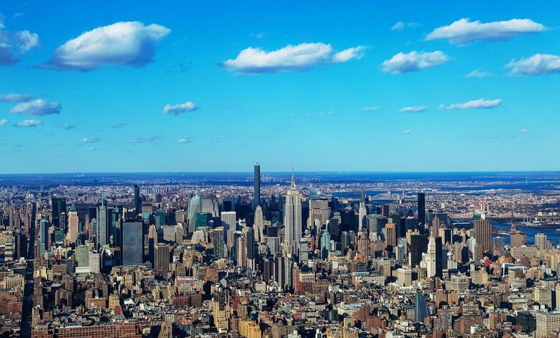 Cityscapes New York I Heart New York Beautiful Amazing View Photooftheday Travel I Love My City Helicopter View  David Gutierrez