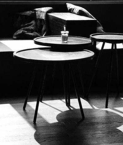 Berlin Table Chair No People Shadows & Lights