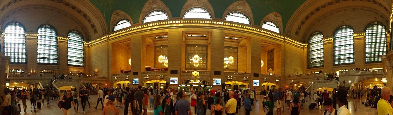 Grand Central Grand Central Station Panorama Panoramic Panoramic Photography People Watching
