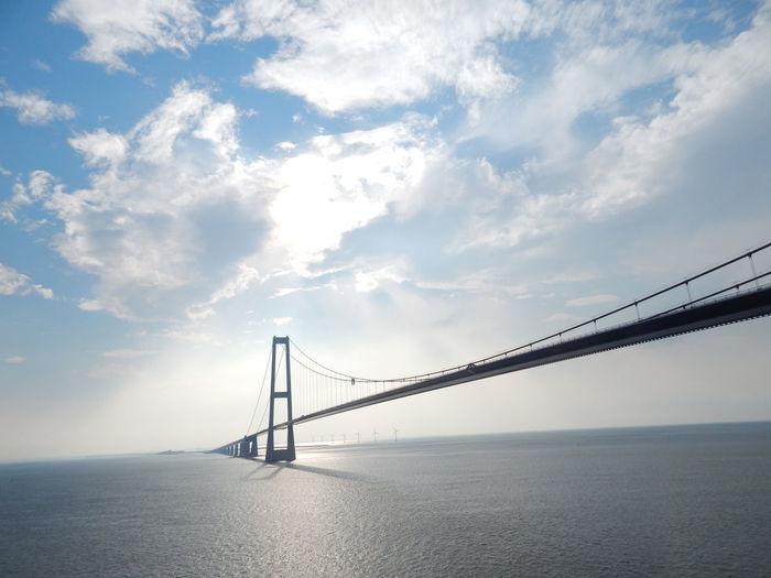 Colerline Die Großen Belt Brücke Funen Seeland Storebælt Storebælt Bridge Storebæltsbroen Storebæltsforbindelsen The Great Belt Bridge