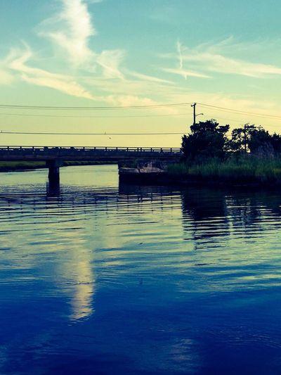 Nature Tuckahoe River Boat Ride Bridge Boatview Water Summer