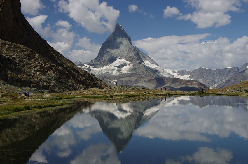 Reflection Mountain Outdoors Adventure Mountain Peak Outdoor Pentax K5ll Nature Beauty In Nature Zermatt Alps Matterhorn Switzerland Purist (no Filter) Purist No Edit No Filter Outdoor Photography Cervino Riffelsee Riffelalp Swiss Alps Swiss Mountains Vallis Long Goodbye The Secret Spaces The Great Outdoors - 2017 EyeEm Awards EyeEm Selects Breathing Space