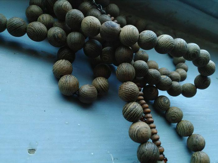 Wooden Neckalace Connection Wood Balls
