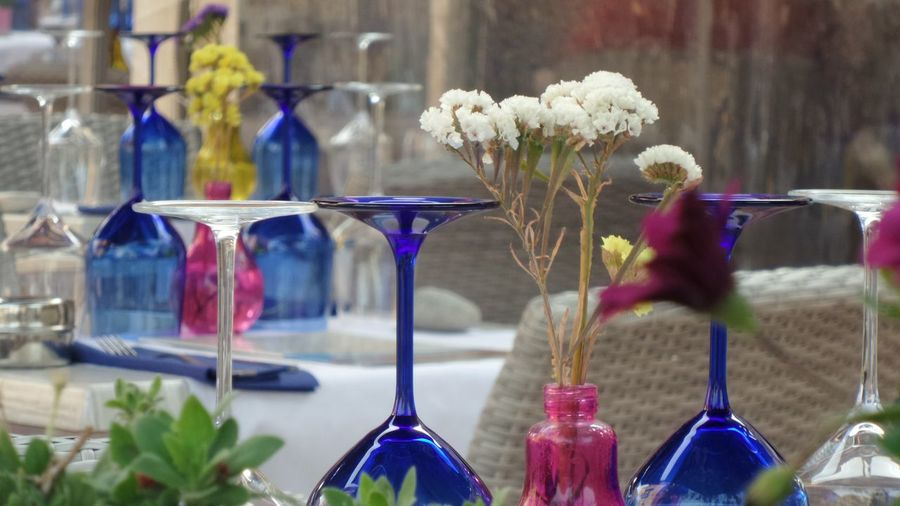 Drinking Glass Wineglass Close-up Freshness No People Table Decoration Estival Contemplation