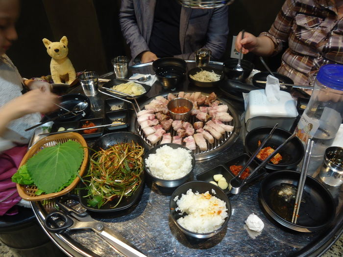 Food Food And Drink Freshness Human Hand Indoors  Meat Plate Ready-to-eat Real People Restaurant