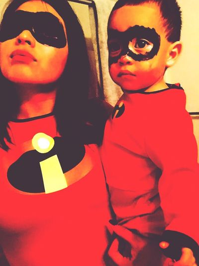 Each other's heroes . TheIncredibles