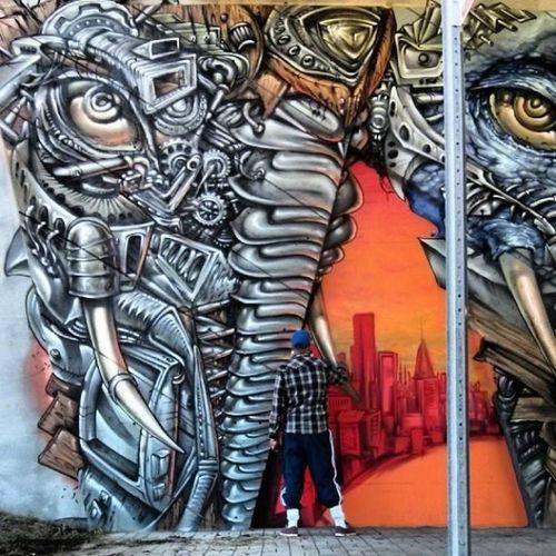 Graffiti By Monk_e & Shalakattack