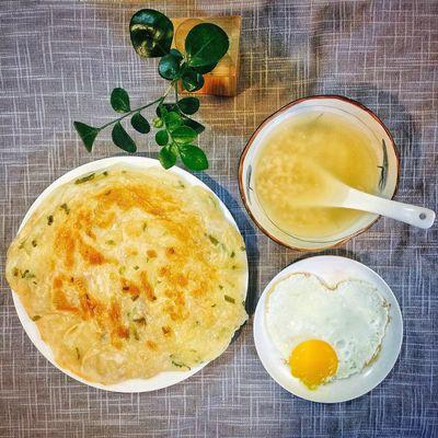 【❤️】煎个饼🤔 春子私房菜 一个人生活 手机摄影 美食 早餐