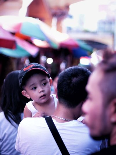 Child Fatherhood  Father And Son Leisure Street Photography Manila, Philippines Quiapo