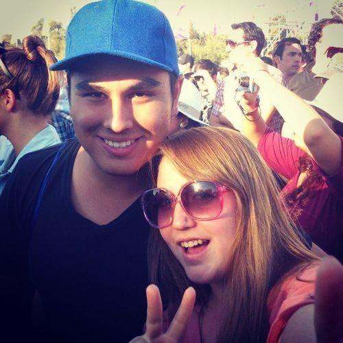 @dario_fuentes y @sylgabriela en el Lollapaloozacl
