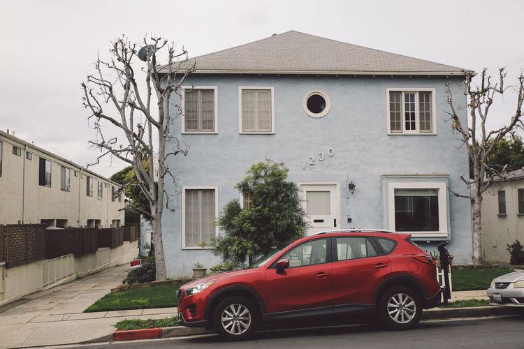 Architecture California City Los Angeles, California Tourist Attraction  Architecture Building Exterior Built Structure Car Day House La No People Outdoors Red Sky Tourist Destination Transportation Travel Destinations Tree