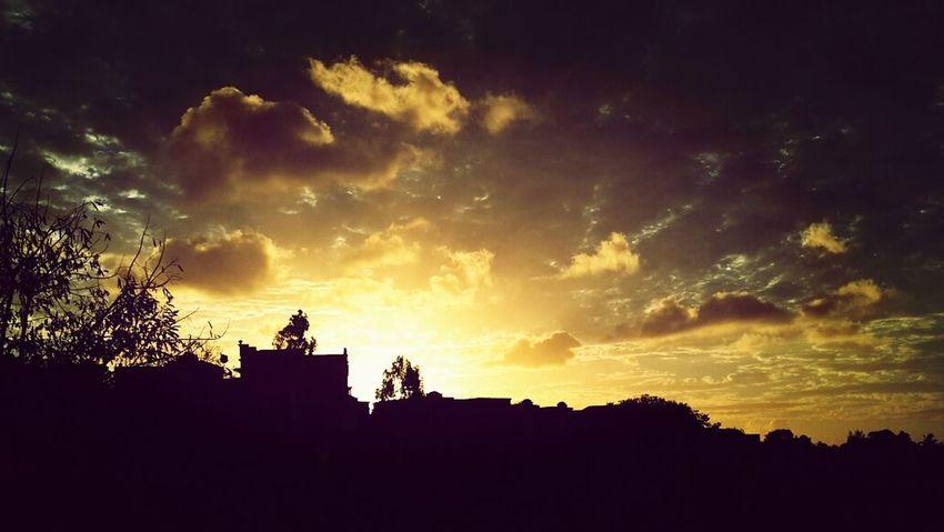 Traveling Sunset Mauritius Island  Goldenhour