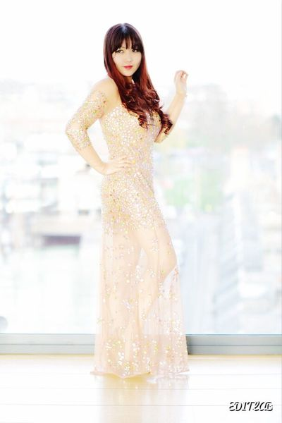 Red hair with glittering dress London Dress Glitter Red Hair Red Lips Redhead