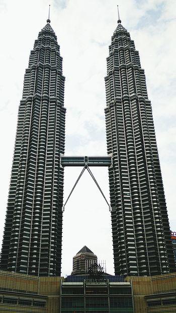 Twintowers Kualalumpur Malaysia Kembar Taking Photos