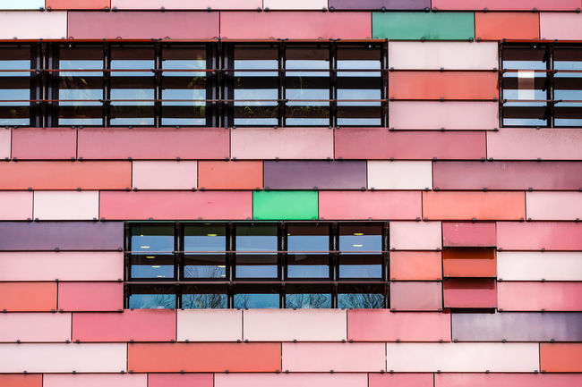 Mostlyred Façade Minimalist Minimalist Architecture Red Architectural Detail Architectural Feature Architecture Building Exterior Built Structure Colorful Day Fujix_berlin Fujixseries Full Frame Minimalism Minimalist Photography  Minimalistic Minimalobsession Multi Colored No People Outdoors Pink Color Ralfpollack_fotografie Window The Graphic City