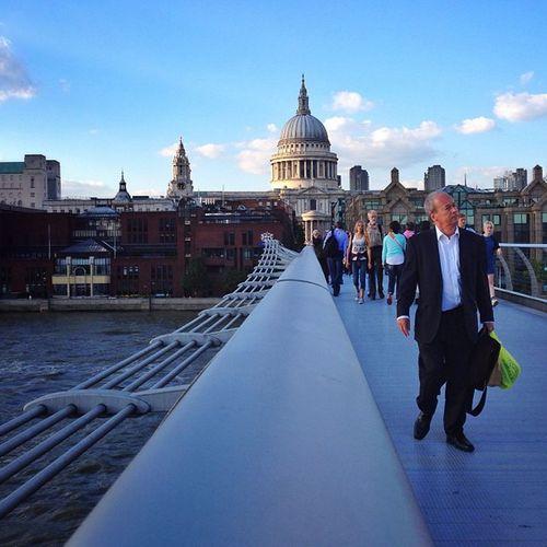 On the #Millennium #bridge ☀️????? #stpauls Thisislondon Gi_uk Igers_london Ig_england Bridge Love_london Ic_cities_london Stpauls Ig_london Gang_family Aauk Millennium Capture_today Londonpop Loveyoursummer Allshots_ Mashpics London_only Top_masters Stpaulsloversanonymous From_city Gf_uk Pro_shooters Alan_in_london Insta_london Stpaulloversanonymous