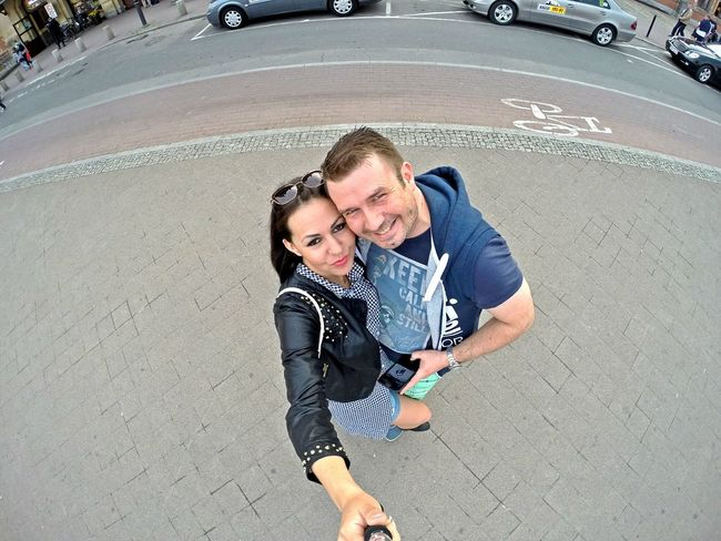 Visiting Gdańsk Lifestyles Casual Clothing Enjoyment Day Looking At Camera Outdoors Gopro Selfieoftheday Gopro Hero3 Selfiegopro Goprophotography Gopro Shots GoPro Hero3+ Goprolife Smiling Looking At Camera Togetherness Fun Summer Handsome Portrait Joy Street Young Adult Vacations