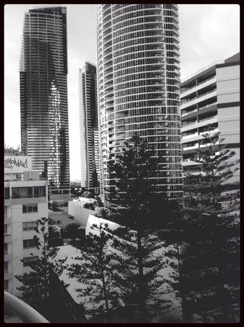 City Life City Scape Gold Coast City