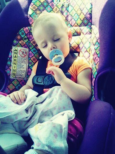 Fallin Asleep In The Car :)