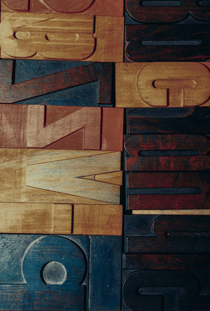 old wooden printing letters Backgrounds Brown Close-up Craft Font Glyphs Implement, Utensil, Instrument, Device, Apparatus, Gadget, Appliance, Machine, Contrivance, Contraption Inustrial  Letter Printing Tool Type Typo Typography Utensil Vintage Wood - Material Wooden