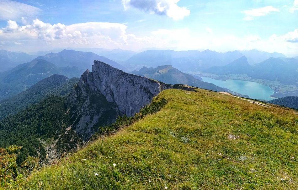 Summerholidays Summertime Holiday Austria Wolfgangsee Austria ❤ Austria Mountains Hill Hills Salzkammergut, Austria Salzkammergut Schafberg (Austria) Schafbergspitze Schafberg Tea Crop Tree Mountain Rural Scene Agriculture Forest City Field Fog Tree Area Terraced Field