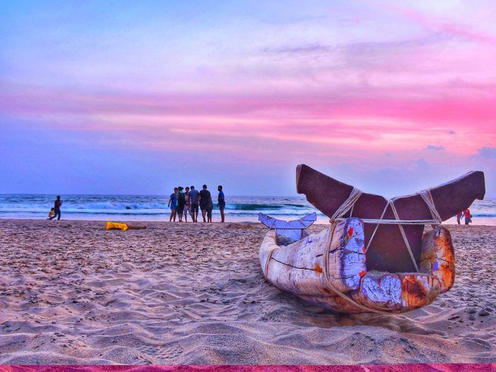 Sunset Nature Sky Beauty Beauty In Nature Low Angle View Dramatic Sky Boat My Travel Diaries India Unseen