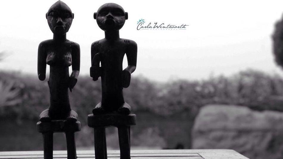 Art Popular Photos African Dolls Blackandwhite