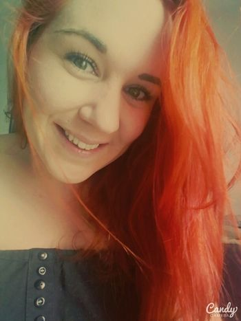 Rousse 😍🍂 Redhair Rousse Orangehair Rouquinestyle Lovemyhair Redhairdontcare Summerhair Redhairgirl Tatooedgirl Me