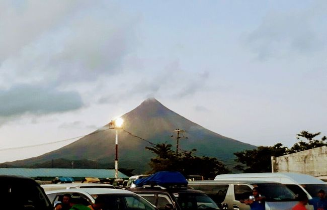 Car Transportation Outdoors Sky Day Land Vehicle No People Tree Nature Mayonvolcano Mayon Volcano Philippines Mayon Volcano Daraga, Albay Philippines Vacation Time EyeEmNewHere