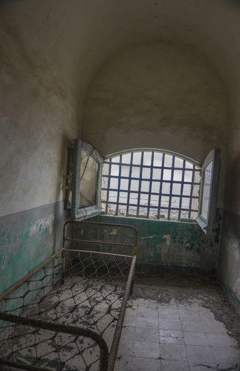 Carcere Borbonico Abandoned Architecture Carcere Borbonico Damaged Day Indoors  Island No People Prison Procida Rust Window