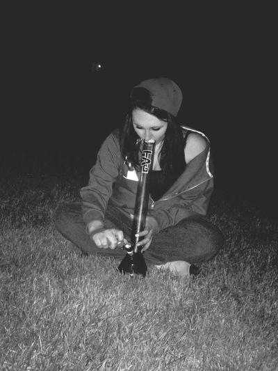 Enjoying Life Stonerchicks Smoking Weed Girlswhosmokeweed Bong via 4:56am - watched the sun rise