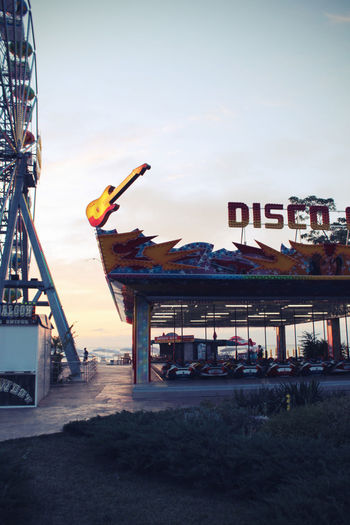Clear Sky Coaster Disco Goldensands Rollarcoaster Sky