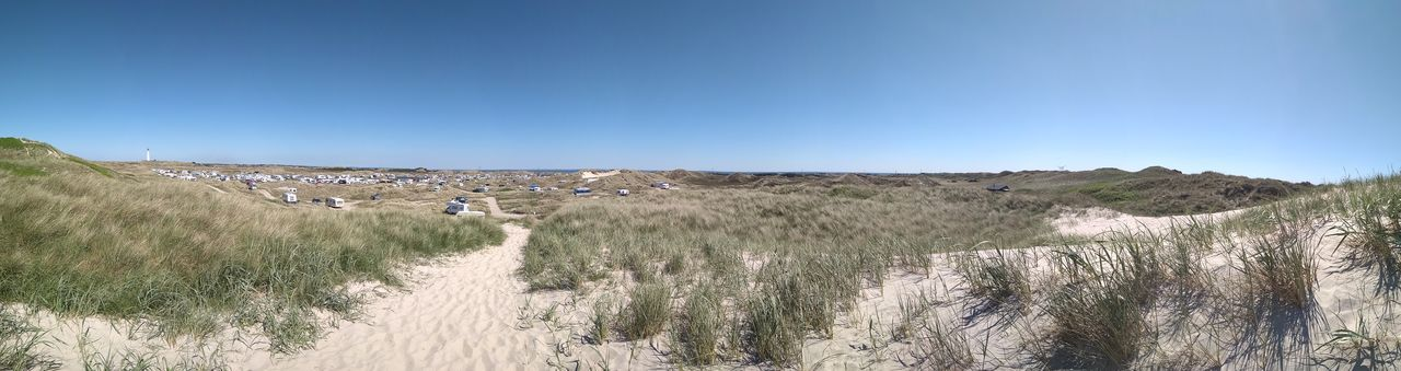 Дания Danmark Natur Grass Sand Camping 2 No People Breathing Space