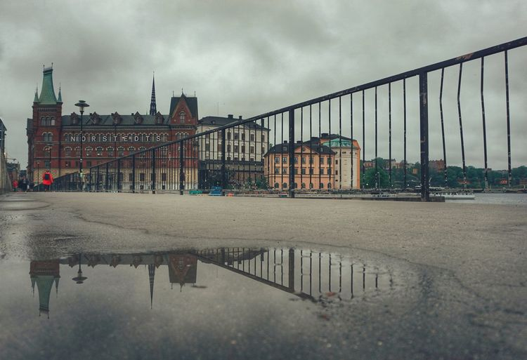 2019 Niklas Storm Maj City Water Cityscape Sky Architecture Built Structure Cloud - Sky Storm Cloud RainDrop Rain Rainfall Wet The Architect - 2019 EyeEm Awards My Best Photo The Street Photographer - 2019 EyeEm Awards