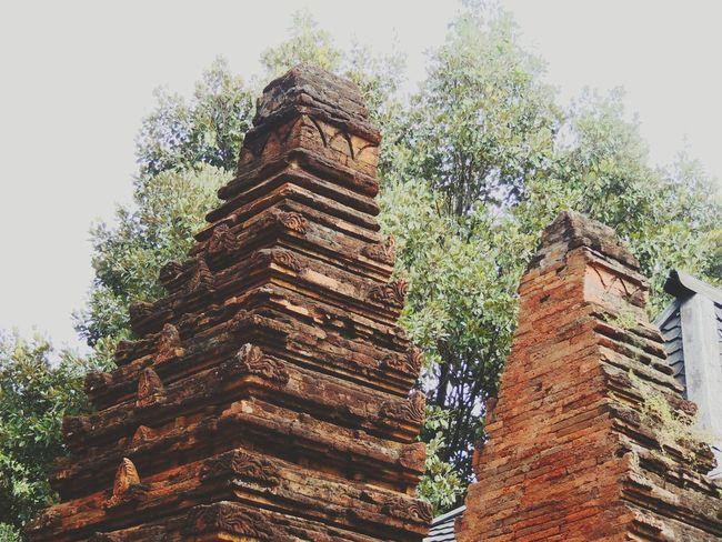 Old But Gold Brick Wall Bricks Gapura Palace Keraton Kasepuhan Visit Indonesia in Cirebon  , INDONESIA