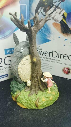 TOTORO on my desk. Totoro