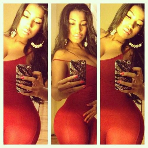 Red Good Night ♡♡ Body Curves  💪💋👍👅💃🙌😂